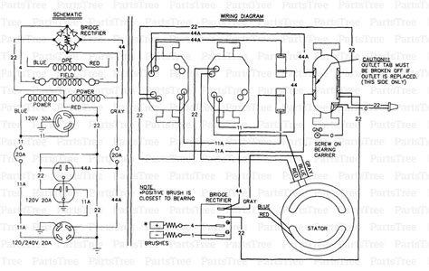 wiring diagram generac engine standby powerhorse engine