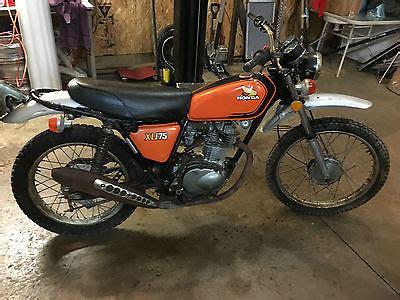 Honda Xl175 by 1973 Honda Xl175 Motorcycles For Sale
