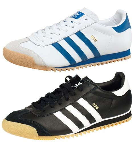 adidas originals rom mens trainers shoes retro leather
