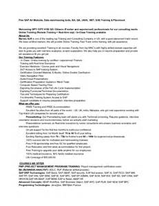 Business Objects Developer Resume by Sle Resume For Business Objects Developer