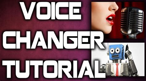 tutorial beatbox robot voice video dailymotion how to change your voice into a female or robot voice