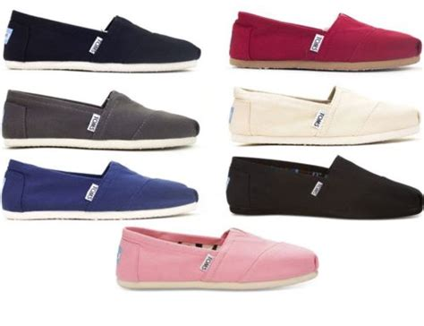 ebay toms shoes ebay toms s classic canvas shoes for 29 99