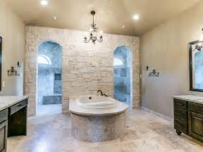 custom bathroom with walk through shower yep that s