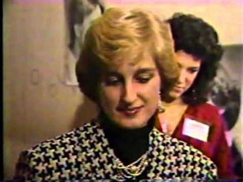 princess diana look like princess diana lookalike contest 1985 youtube