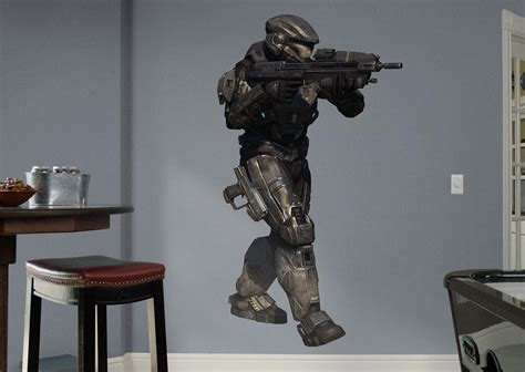 halo wall mural noble six halo reach wall decal shop fathead 174 for halo decor