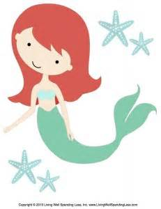 Pin The On The Mermaid Template by 6 Best Images Of Mermaid Printable Cut Out Templates