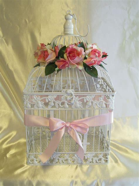 decorative bird cages in the interior romantic decor birdcage wedding card holder wedding card box glam