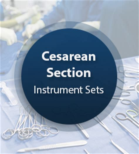 cesarean section surgical instrument set cesarean section surgical instrument set