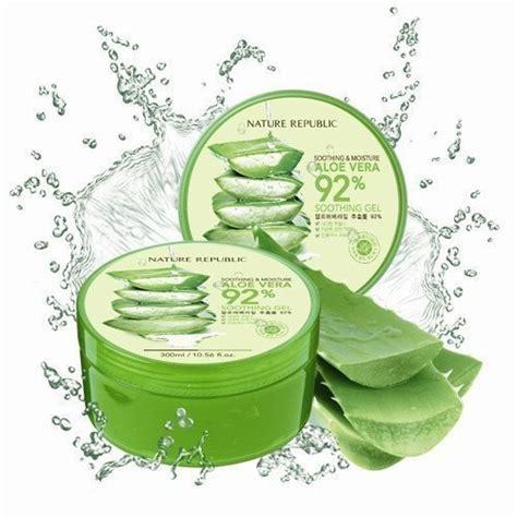 Masker Wajah Aloe Vera 92 15 produk masker pemutih wajah alami terbaik dan aman