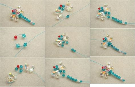step by step beading how to make beaded dragonfly step by step diy tutorial