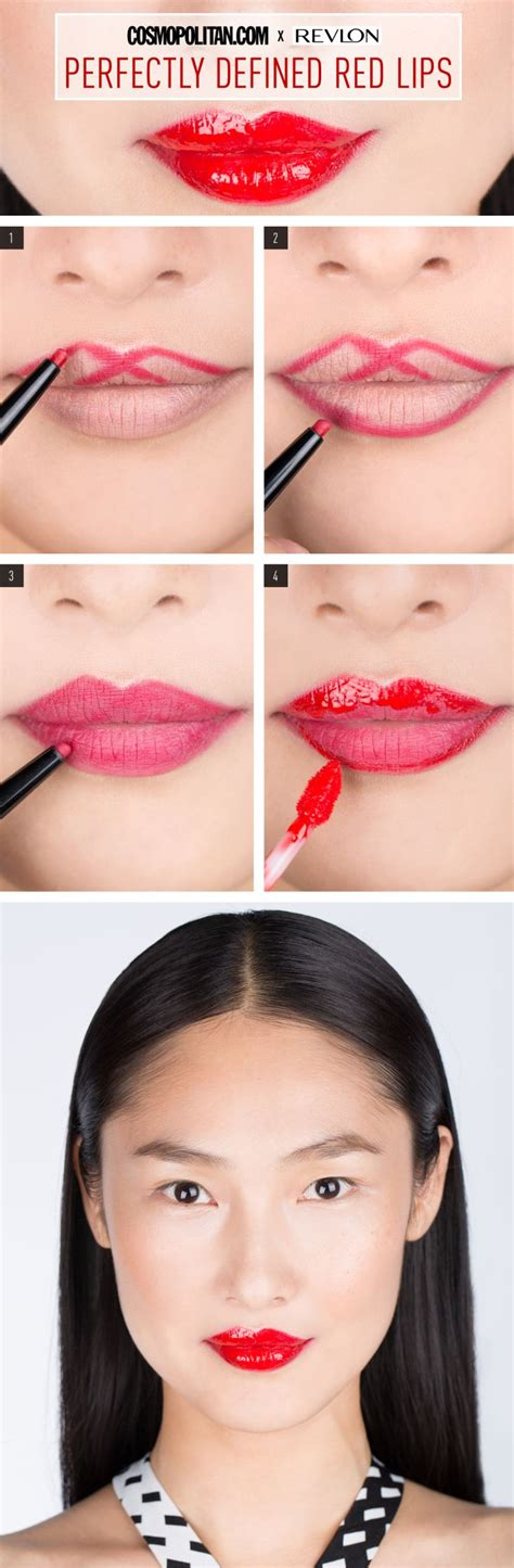 tutorial makeup revlon 17 best ideas about revlon red lipstick on pinterest