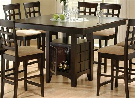American Drew Dining Room Sets rich cappuccino counter height table counter height tables