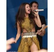 Selena Gomez Wardrobe Malfunction Dress