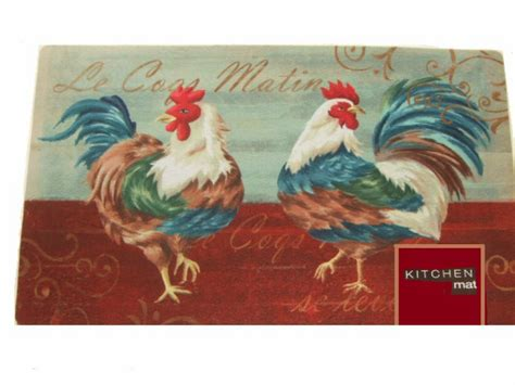 kitchen rooster rug roosters kitchen rug