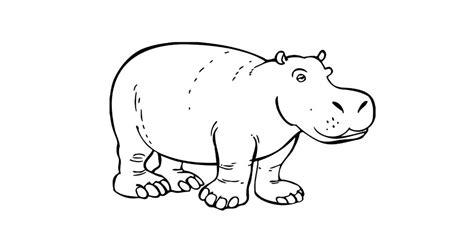 Imagenes Para Colorear Hipopotamo | hipopotamos para colorear gallery