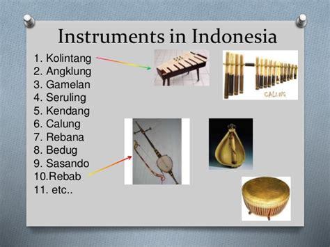Indonesian music