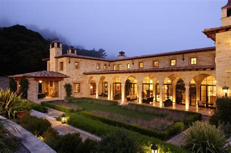 12 9 Million Tuscan Inspired Estate In Montecito Ca Homes Of The Rich » Home Design 2017
