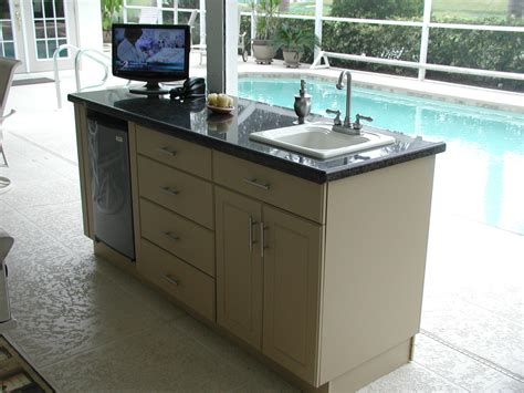 Outdoor Kitchen Sink Cabinet | an outdoor kitchen for people who don t cook outdoors