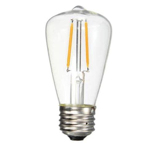 Edison Style Led Light Bulbs Edison Style Led Light Bulbs St18 Led Filament Bulb 70 Watt Equivalent Led Vintage Www Hempzen Info