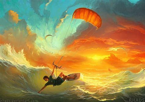 R S Painting by Artem Chebokha Et Ses Peintures Imaginaires