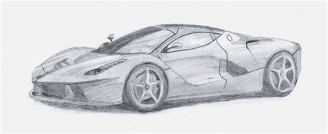 laferrari sketch laferrari sketch