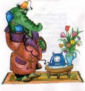 телефон сказка чуковского картинки