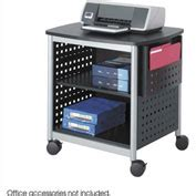 safco scoot desk side printer stand bookcases displays chart file holders