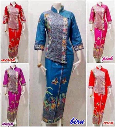 Baju Setelan Batik Mayha Baju Batik Kerja Setelan Murah 20 model baju batik setelan trend terbaru 2018