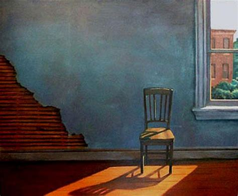 Interior Paintings For Home by Sun On An Empty Chair Christopher Brennan Art Studio