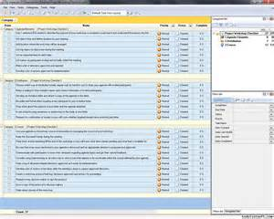 project workshop checklist to do list organizer