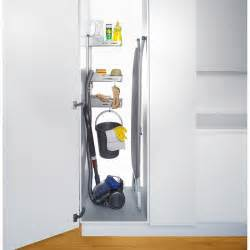 armoire a balais sesam storage system for broom closet richelieu hardware