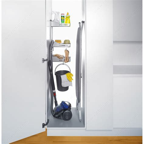 sesame bathroom accessories sesam storage system for broom closet richelieu hardware