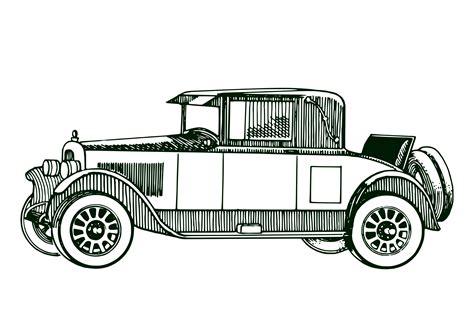 vintage cars clipart classic car line art www pixshark com images galleries