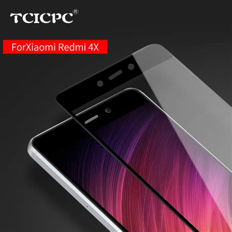 Tempered Glass Jangkar Xiaomi Redmi 4 Redmi 4a Redmi 4 Prime tcicpc tempered glass for xiaomi redmi 4x redmi 4a 9h screen protector protective