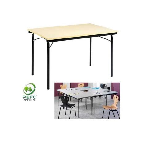 table bureau pliante table pliante quatro