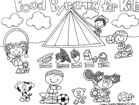 coloring page of the food pyramid food pyramid coloring food pyramid coloring pages