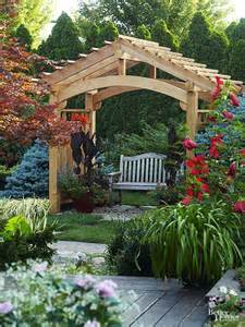 backyard arbor design ideas 25 best ideas about pergola designs on cedar