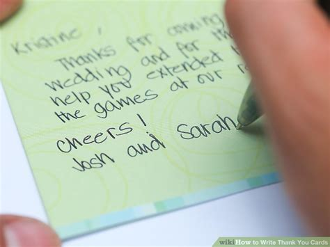 when to send wedding thank you cards out how to write thank you cards 9 steps with pictures