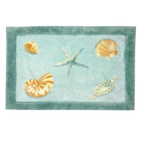 coastal bathroom rugs coastal bath rugs awesome green coastal bath rugs
