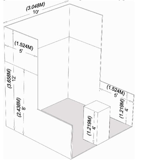 booth design dimensions perimeter booth