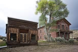 Garnet Mt city drug store and hotel meade bannack montana ghost