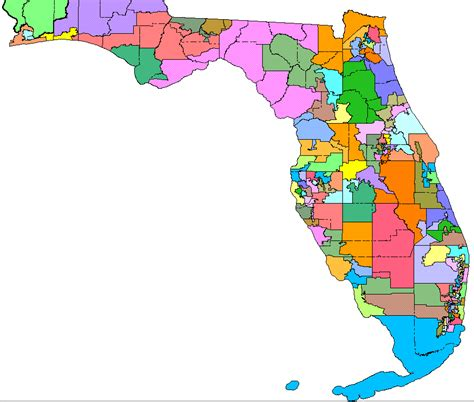 map of florida us congressional districts 2010 redistricting