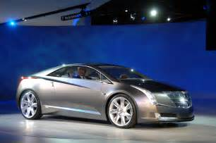new cadillac electric car cadillac presents electric hybrid converj concept at