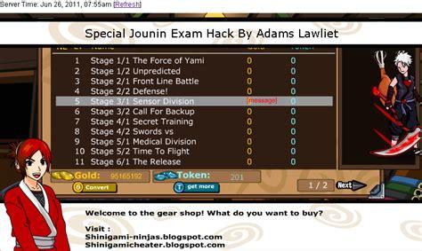 cheat seal online indonesia pointer bypass baru juni cheat update terbaru all special jounin exam unlock via