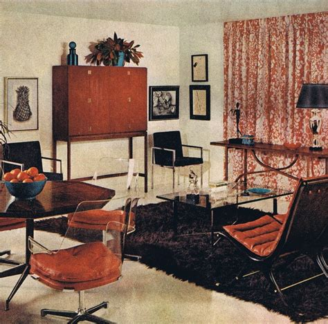 contemporary style better homes and gardens 1967 mid