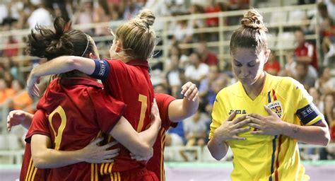 futbol sala femenino espa a fotos f 250 tbol sala femenino el espa 241 a ruman 237 a en