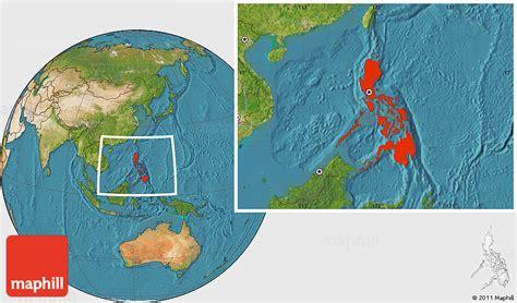map philippines satellite satellite location map of philippines