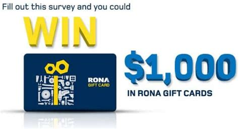 Can Gift Cards Expire In Ca - rona survey www opinion rona ca customer survey