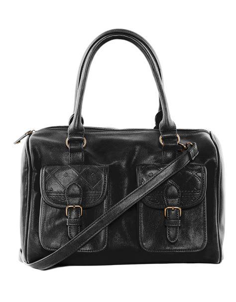 Pullbear Bag pull bowling bag in black lyst