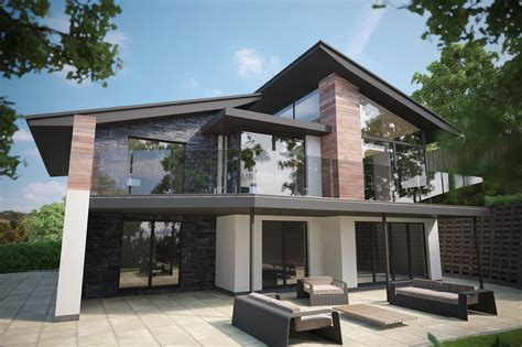 Modern Home Design Builders New Builds Llandudno Conwy Luxury House Designer Cheshire